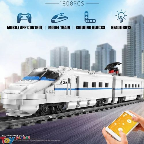 Xếp Hình Tàu CRH2 High-Speed Train Mould King 12002 (2086 pcs)